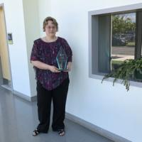"Dr. Allison DeAlton Oakes, Chestnut Restoration Project awarded ""STEM Woman of the Year"" !"
